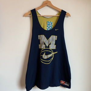 Nike Michigan Wolverines Reversible Basketball Practice Jersey