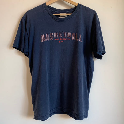 Nike Basketball Navy Blue Youth Tee