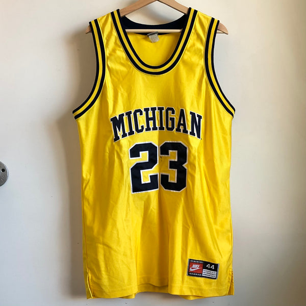 Nike Michigan Wolverines Authentic Basketball Jersey