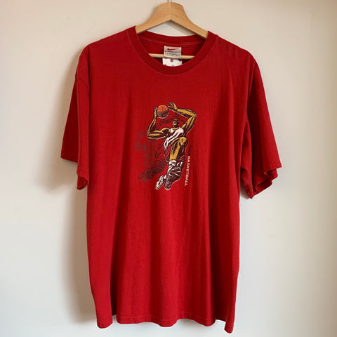 Nike Basketball Red Tee Shirt