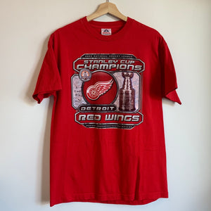 2002 Detroit Red Wings Stanley Cup Champions Tee