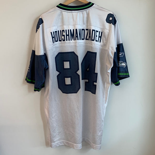 Reebok Seattle Seahawks White Football Jersey