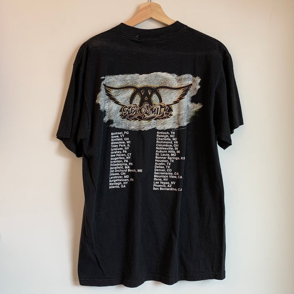 "Aerosmith ""Get A Grip"" Black Tee Shirt"