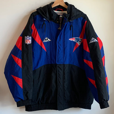 Apex One New England Patriots Hooded Parka Jacket