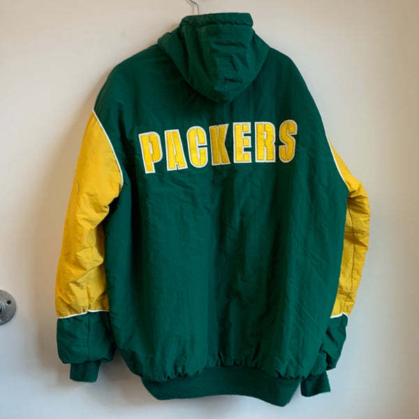 Starter Green Bay Packers Hooded Parka Jacket