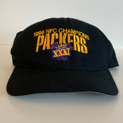 1996 New Era Green Bay Packers NFC Champions Snapback