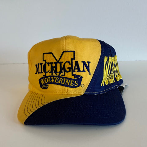 Michigan Wolverines Embroidered Snapback