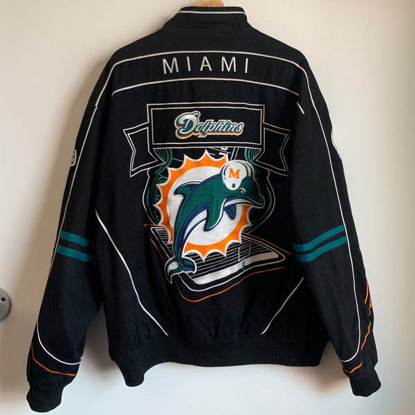 NFL Miami Dolphins Racing Jacket