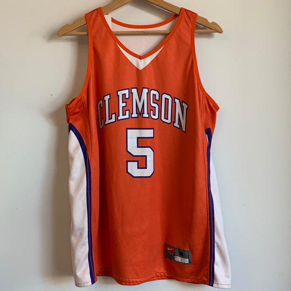Nike Clemson Tigers Reversible Basketball Jersey