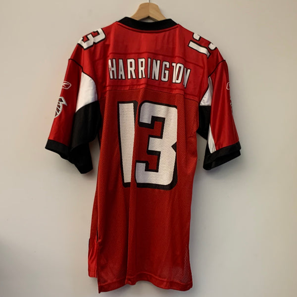 Reebok Joey Harrington Atlanta Falcons Red Football Jersey