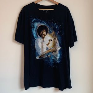 Bob Ross Black Tee Shirt