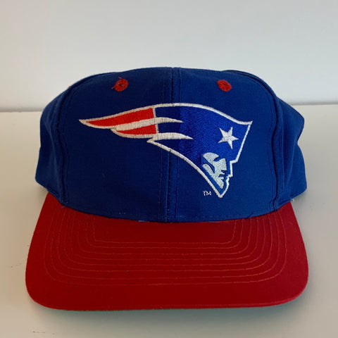 Sports Specialties New England Patriots Blue & Red Snapback
