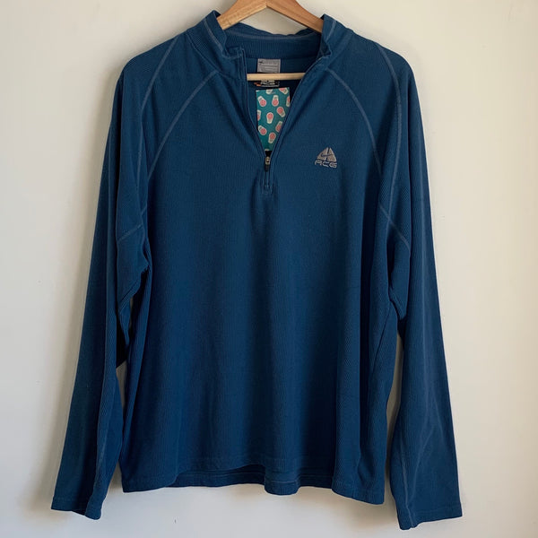 Nike ACG Teal Zip Up Fleece