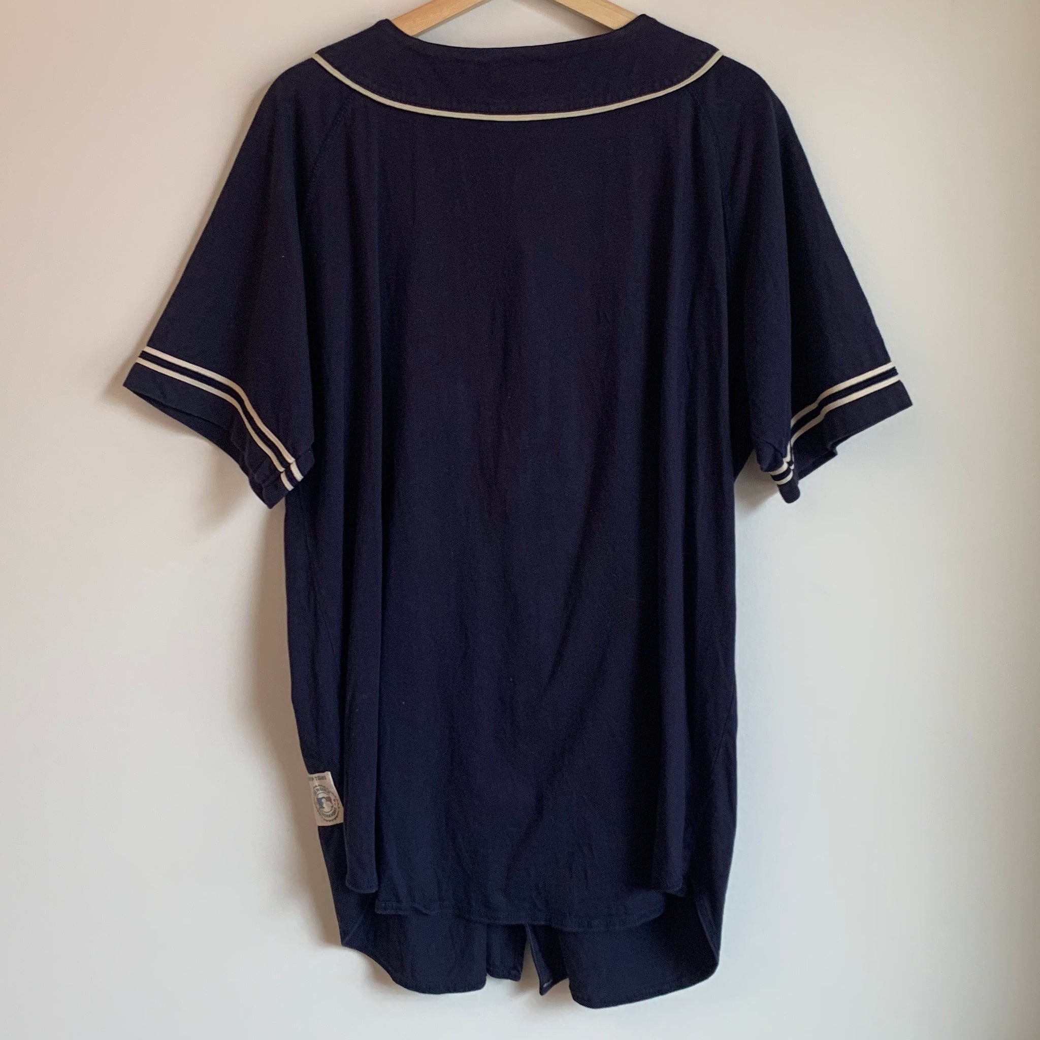 wholesale dealer 0dd3c 26d93 Russell Athletic Seattle Mariners Navy Baseball Jersey