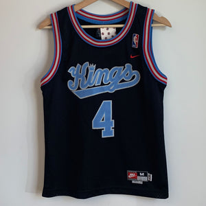 Nike Chris Webber Sacramento Kings Black Youth Swingman Basketball Jersey