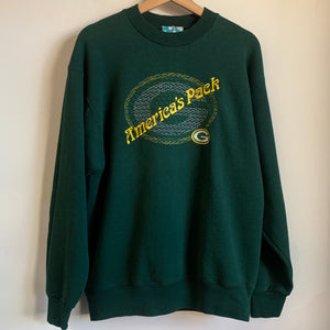 "Green Bay Packers ""America's Pack"" Embroidered Crewneck Sweatshirt"
