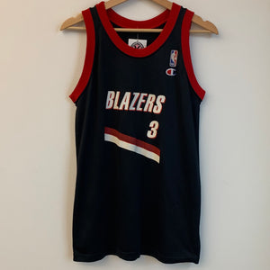 Champion Cliff Robinson Portland Trail Blazers Black Youth Basketball Jersey