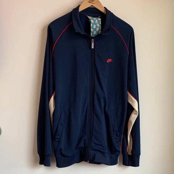 Nike Navy & Red Track Jacket