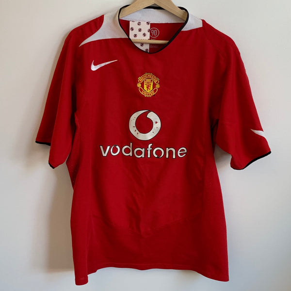 Nike Total 90 Manchester United Red Devils Soccer Jersey