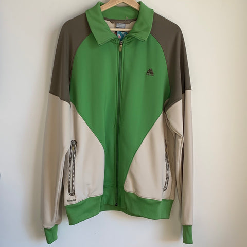 Nike ACG Pea Green Zip Up Jacket
