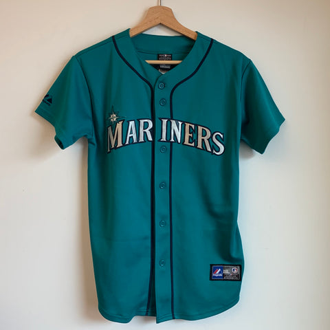 Majestic Robinson Canó Seattle Mariners Youth Baseball Jersey