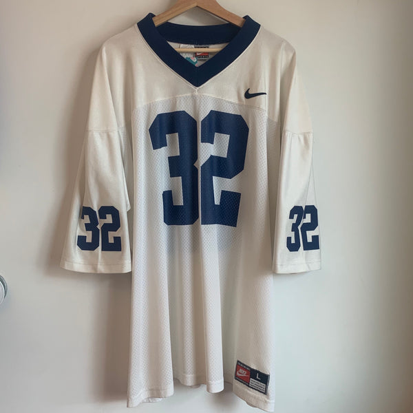 Nike Team Sports Number 32 White Jersey