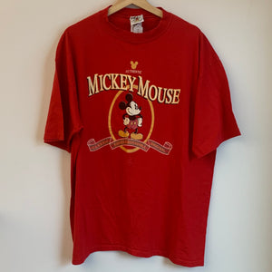 Mickey Mouse Red Tee Shirt
