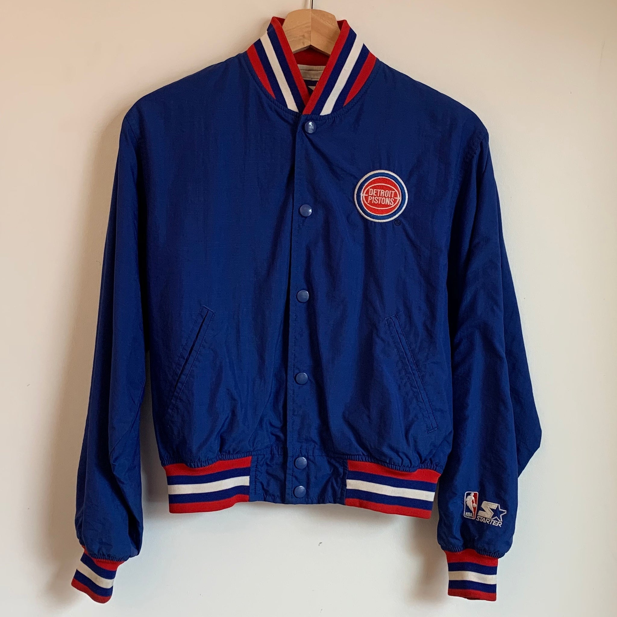 Starter Detroit Pistons Youth Warmup Jacket