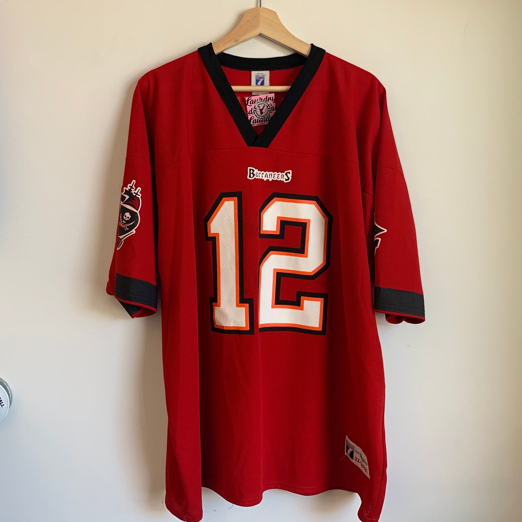 Logo 7 Trent Dilfer Tampa Bay Buccaneers Football Jersey