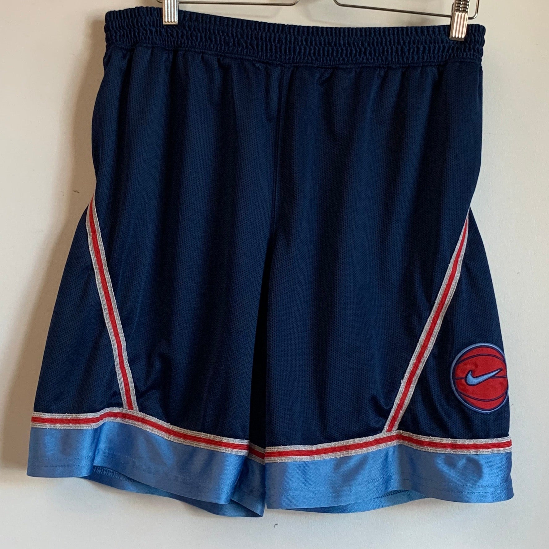 Nike Red Basketball Navy Shorts