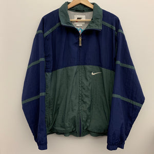 Nike Windbreaker Green/Navy/ White