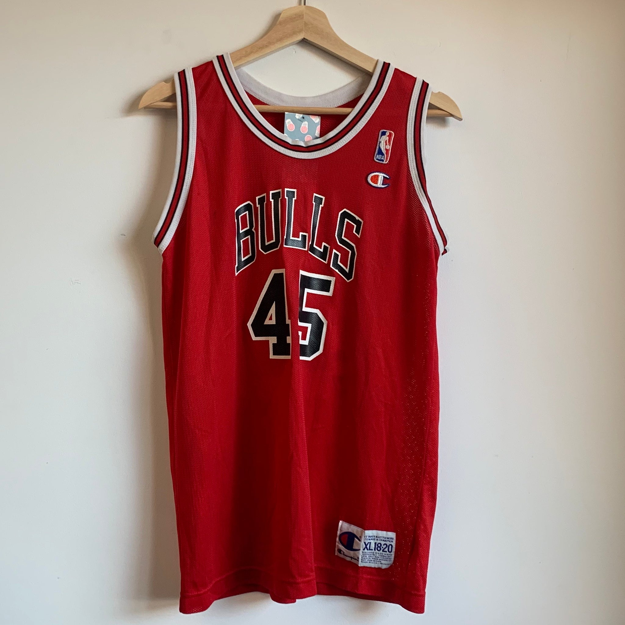 Champion Michael Jordan Chicago Bulls Youth Basketball Jersey