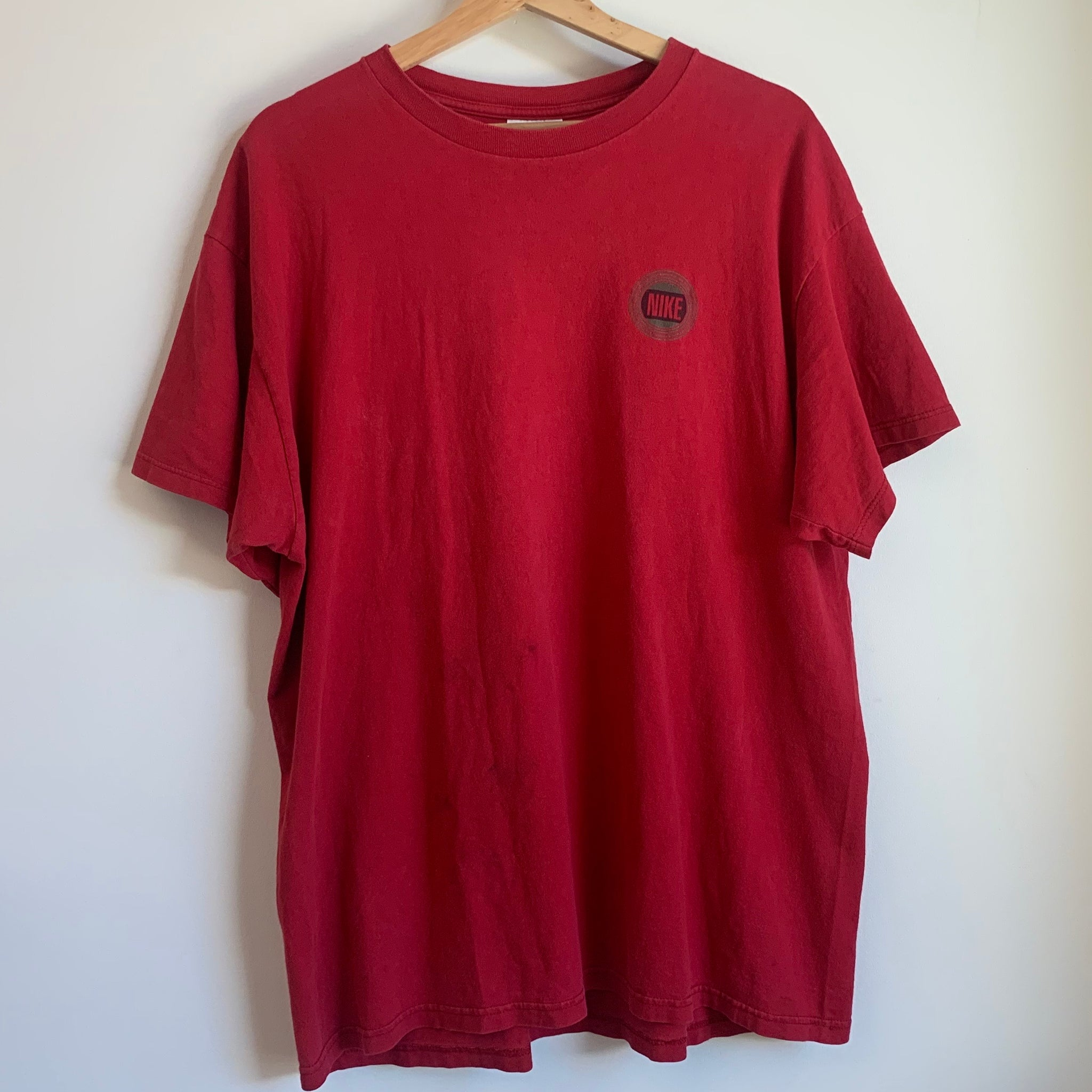 Nike Just Do It Red Tee Shirt