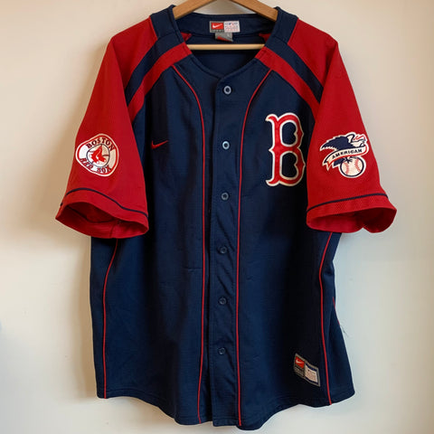 Nike Boston Red Sox Navy Blue Jersey