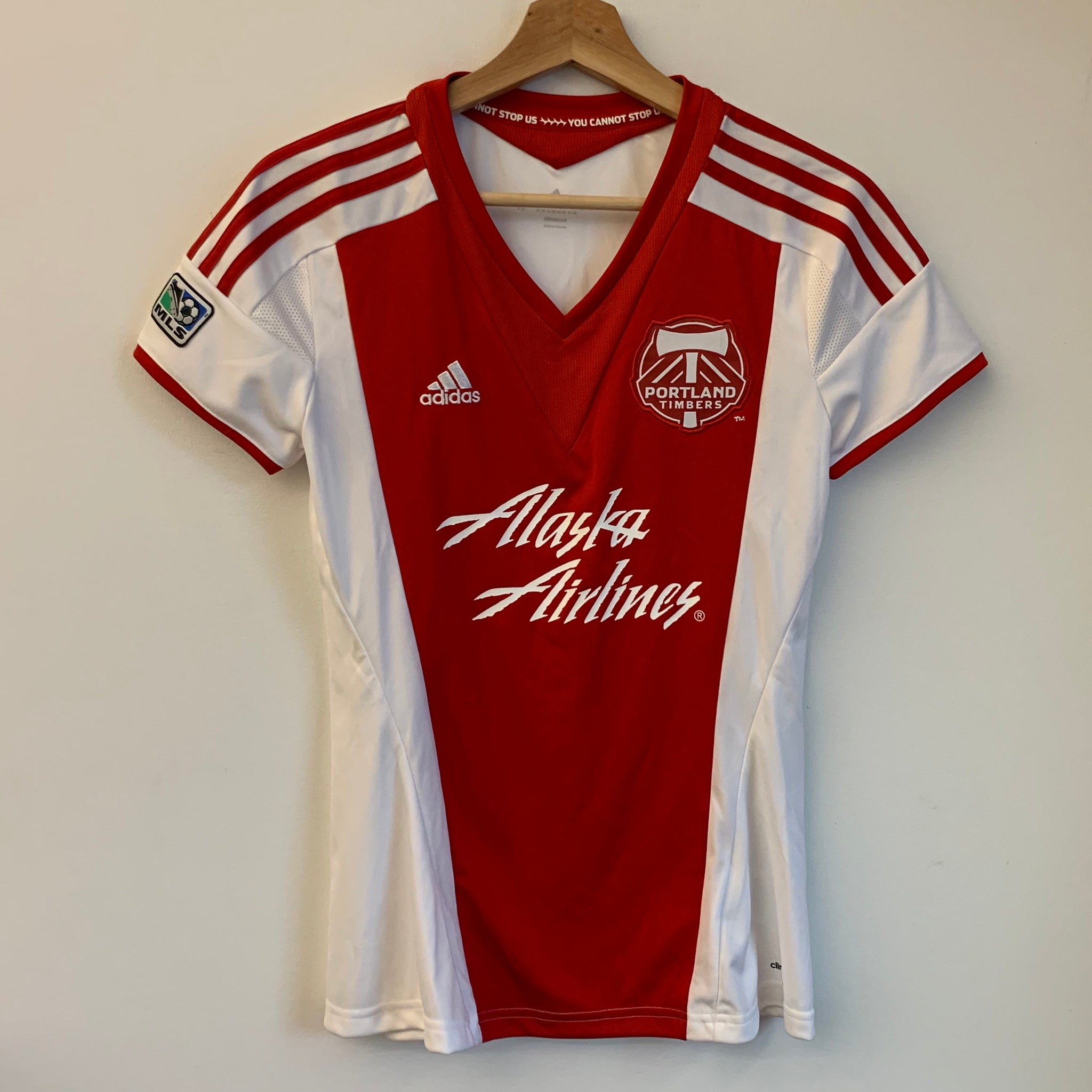 Adidas Portland Timbers Red Women's Soccer Jersey – Laundry