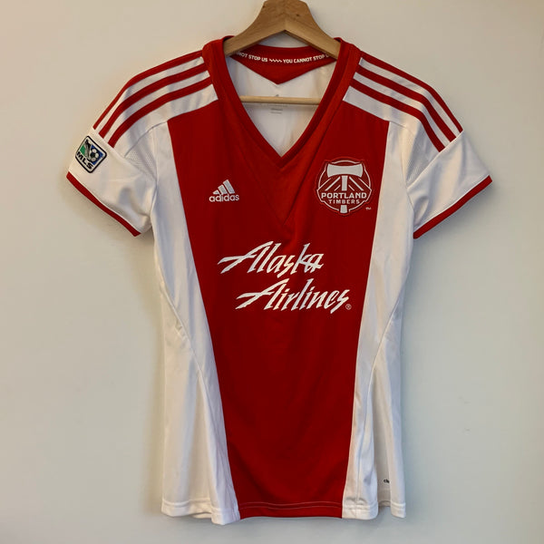 Adidas Portland Timbers Red Women's Soccer Jersey