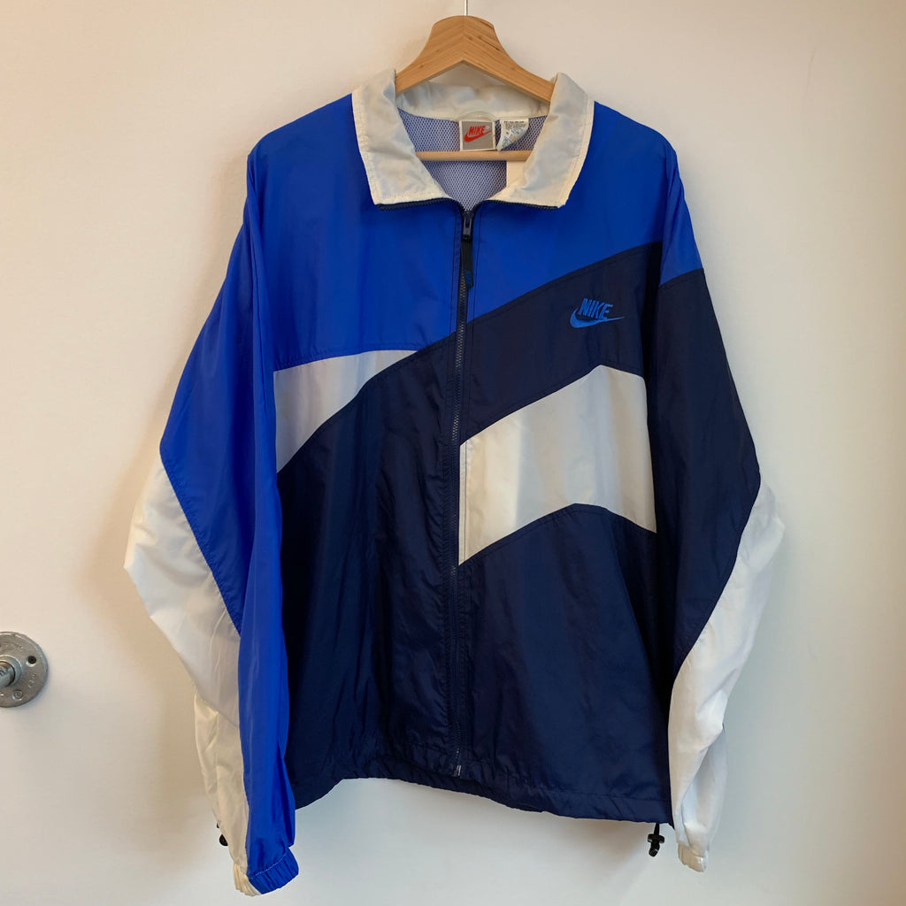 Nike Blue/Navy/ White Windbreaker