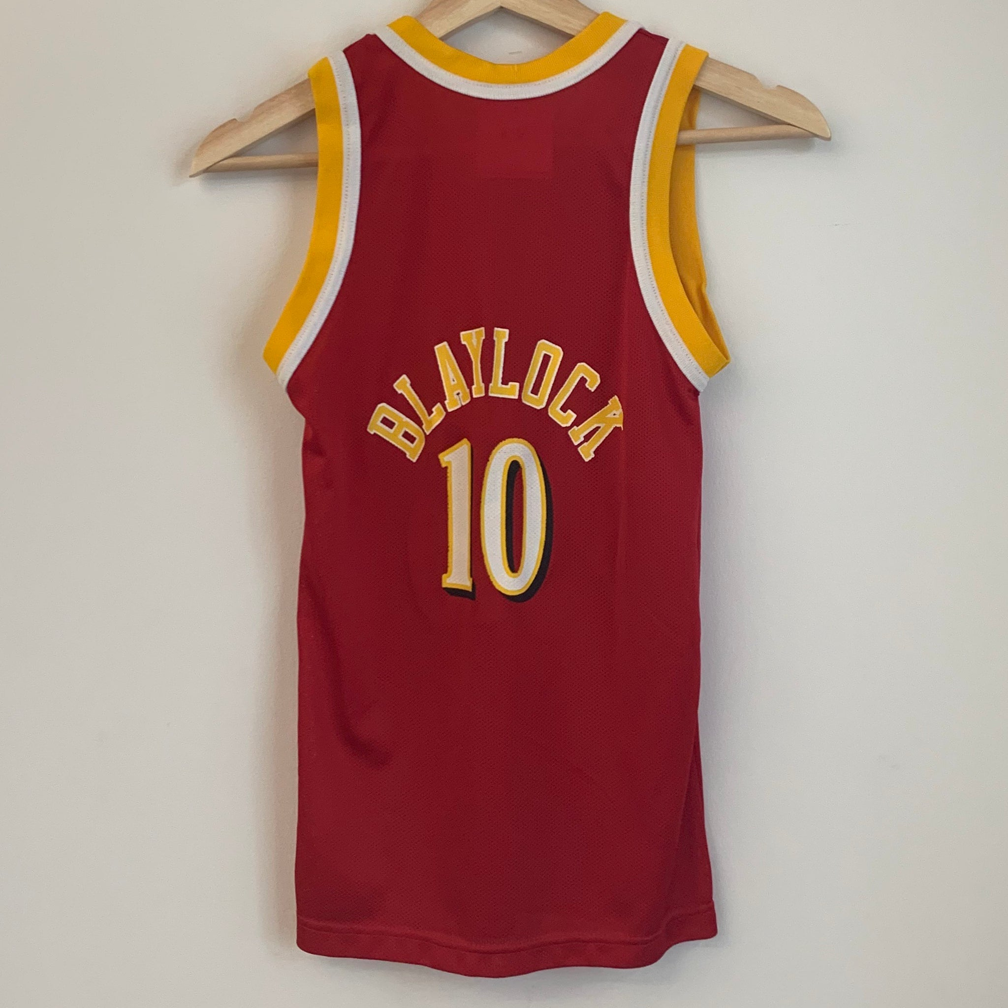Champion Mookie Blaylock Atlanta Hawks Red Youth Basketball Jersey