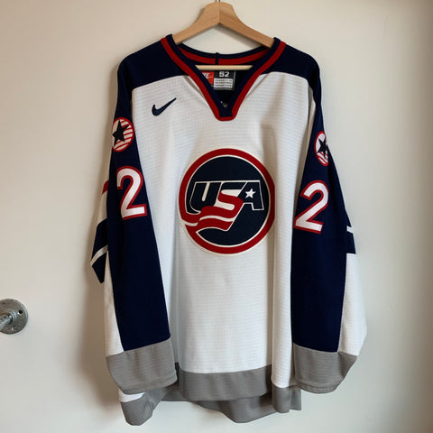 Nike Brian Leetch USA Hockey Jersey