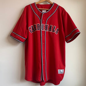 True Fan St. Louis Cardinals Red Baseball Jersey