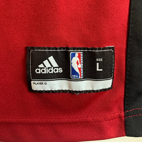 adidas LeBron James Miami Heat Red Youth Basketball Jersey