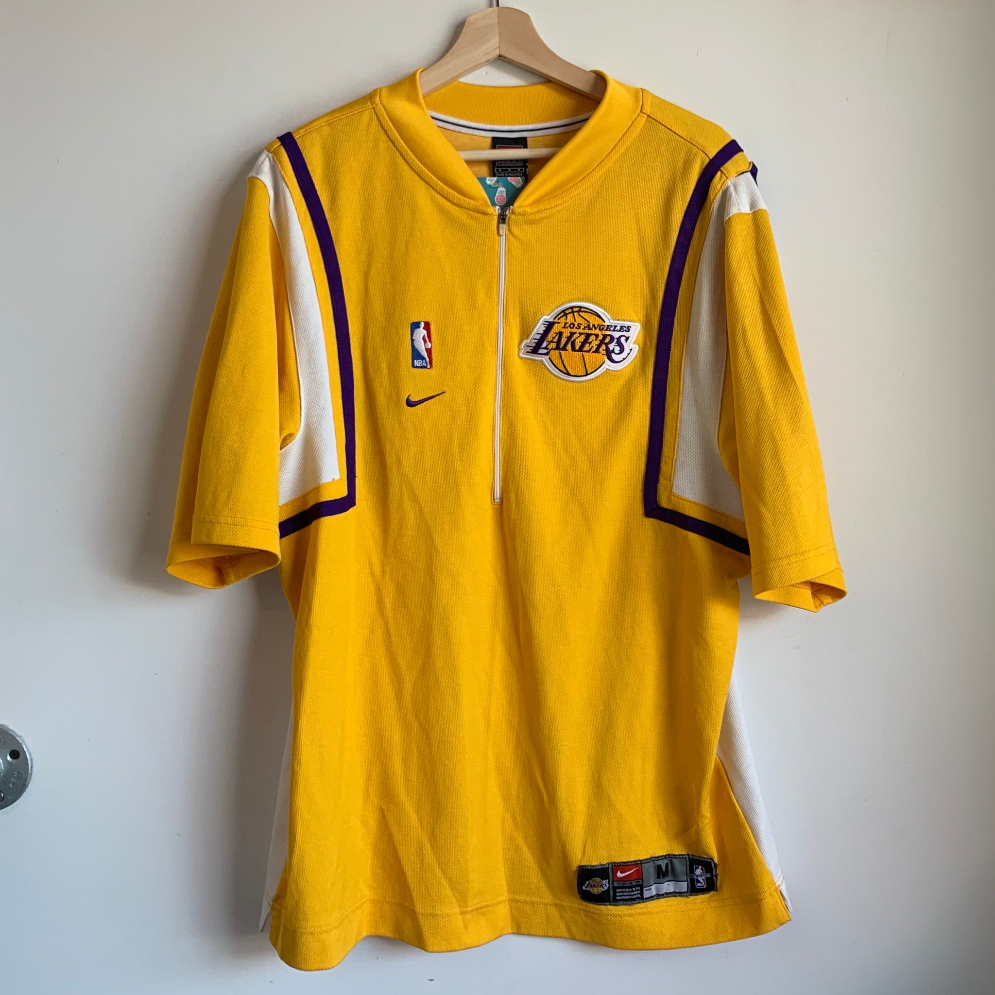 Nike Los Angeles Lakers Basketball Warmup Shooting Shirt