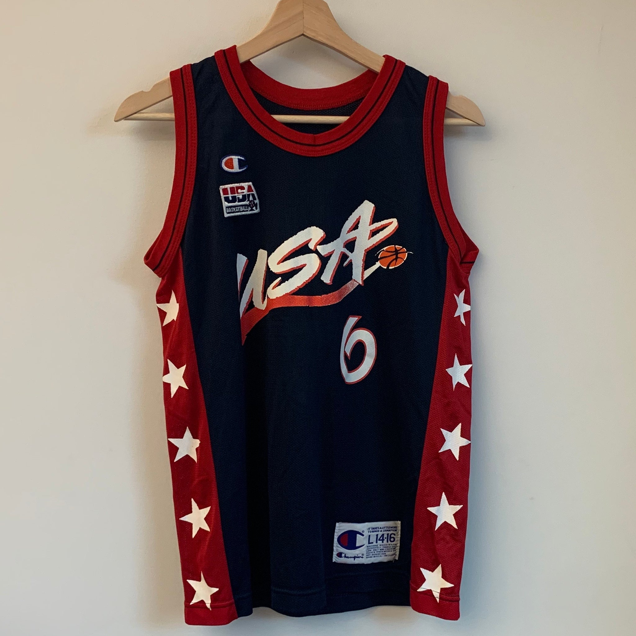 Champion Anfernee Penny Hardaway USA Dream Team 2 Youth Basketball Jersey