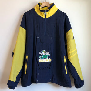 Apex One Notre Dame Navy / Yellow Parka Jacket
