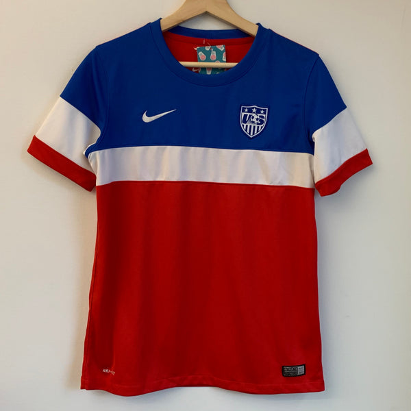 Youth Nike 2014 USA Red/White/Blue Jersey
