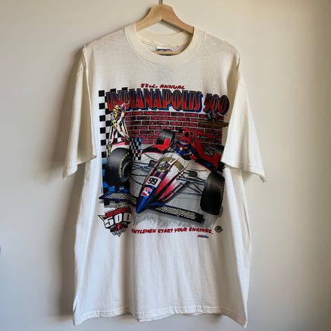 83rd Annual Indianapolis 500 White Tee Shirt