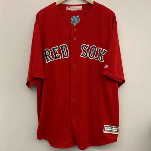 Majestic Boston Red Sox Baseball Jersey