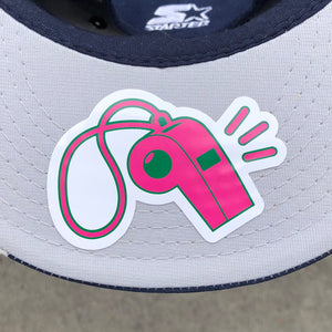Whistle Logo Sticker