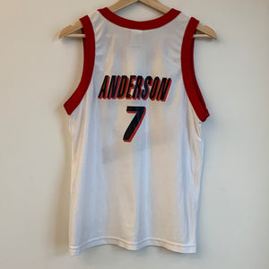 Champion Kenny Anderson Portland Trail Blazers White Youth Basketball Jersey