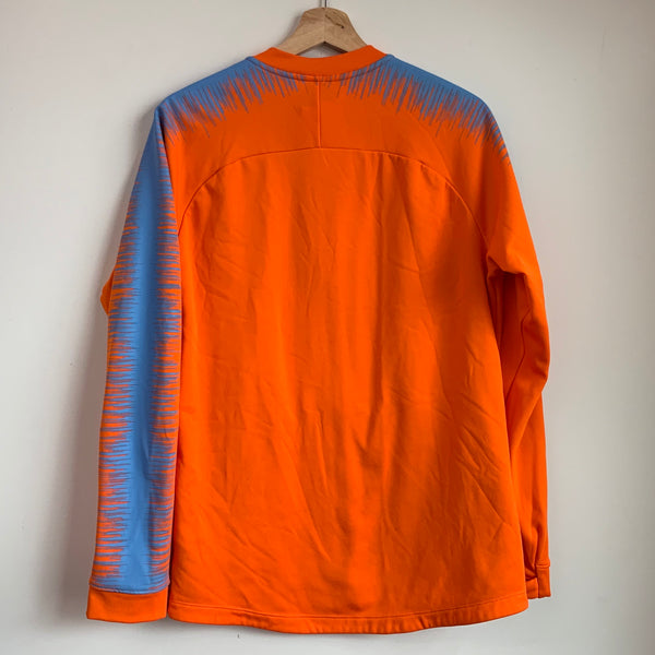 Nike Club America Orange & Blue Track Jacket